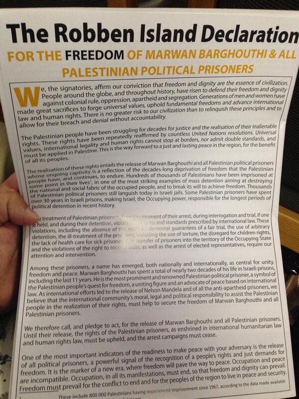 Robben Island Declaration