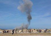 Aanval op Gaza 210414 Khan Younis