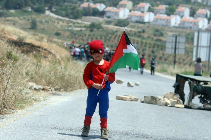 Palestijns kind in Nabi Saleh