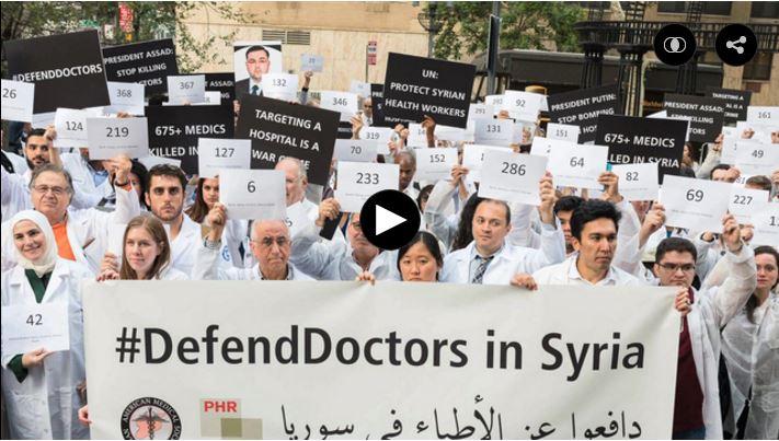 Syria aanval op artsen