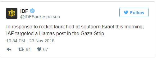 Aanval Gaza 231115