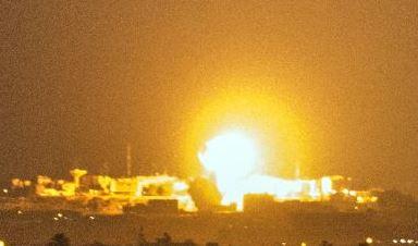 Aanval Gaza 071215