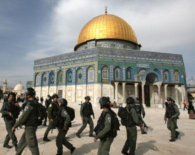 Zionisten bij Al Aqsa