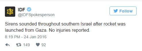 Aanval Gaza 250116 2
