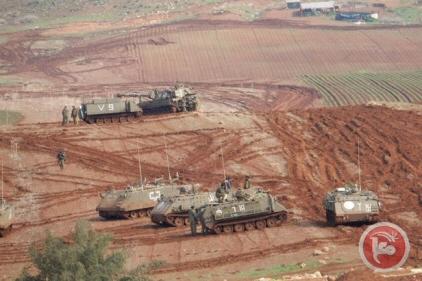 Tanks in Jordaan Vallei