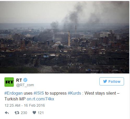 Syria aanval op Kurden