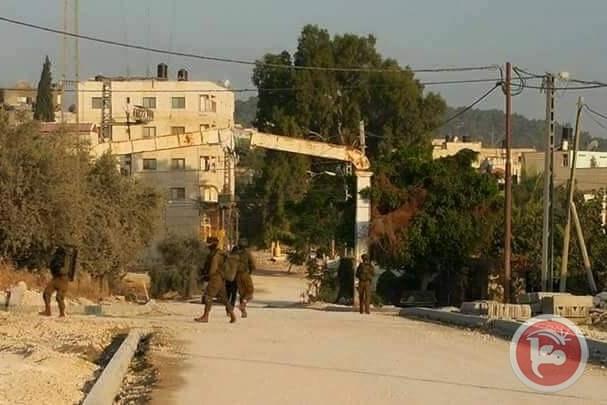 West Bank Pal opgepakt