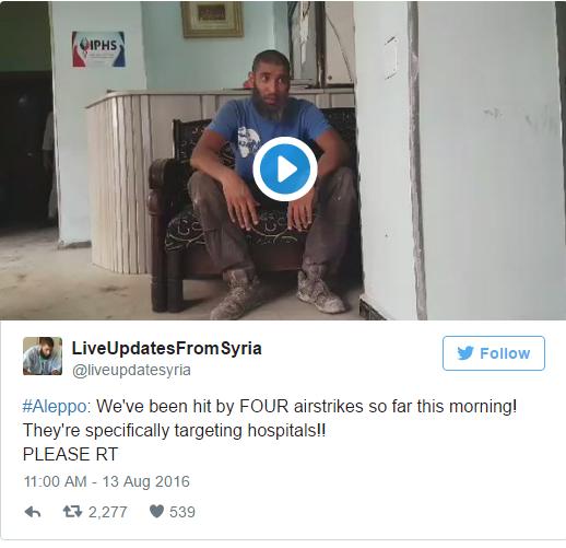 Aleppo hulp
