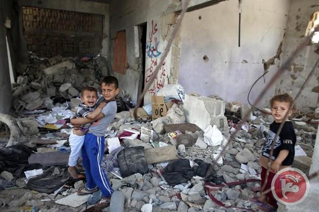 Gaza vernietigd huis