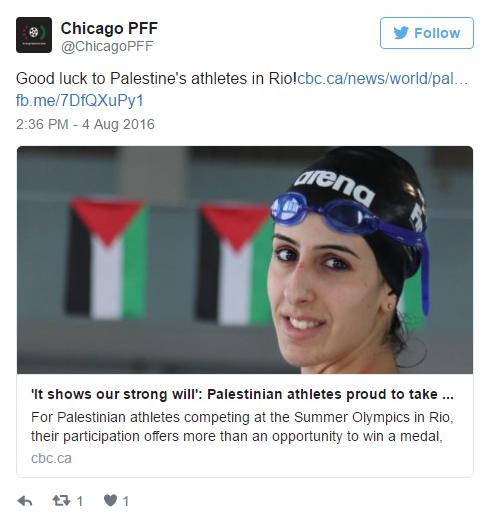 Palestinian athletes