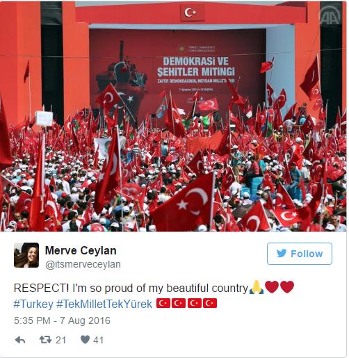 Turkse demo