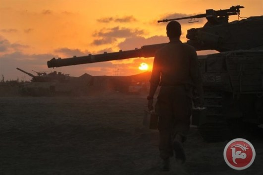 Zionist Merkava tank