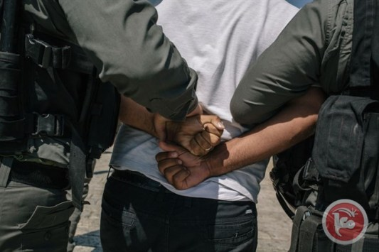 negev-palestijn-opgepakt