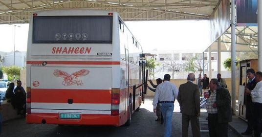 40 Palestijnen geweigerd te reizen
