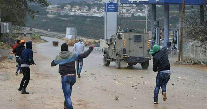 Beit Ummar en traangasaanval