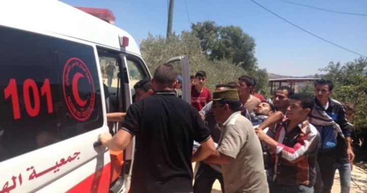 Bethlehem Palestijn gewond