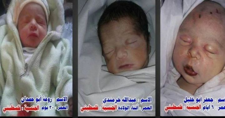 Dode babys Syrie
