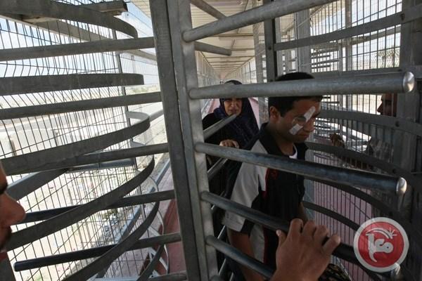 Erez grensovergang minder Palestijnen doorgelaten