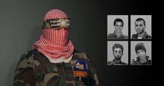 Gaza gevangenen bij Hamas