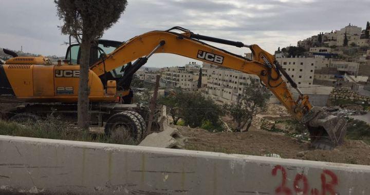 Jabal Mukaber vernietiging huizen