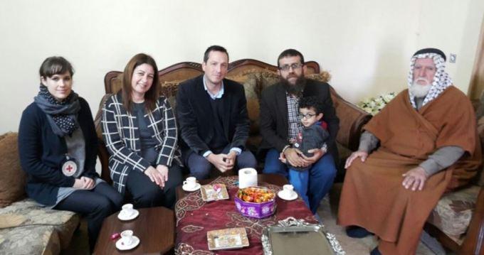 Khader Adnan PA houdt Palestijnen gevangen