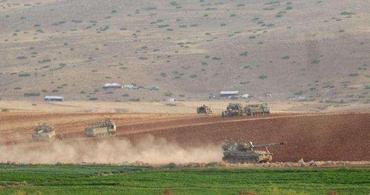 Negev militaire maneuvres