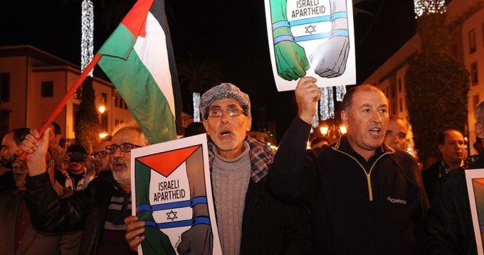 Pro-Palestina Marokko