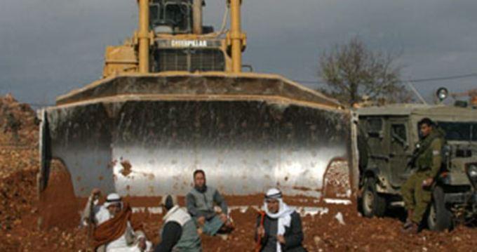 Salfit Palestijns land ingepikt