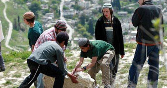 Settlers aanval al-Quds