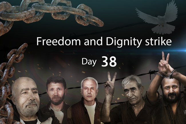 38th of hunger strike