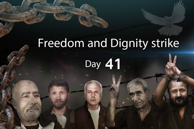 41th day of hungerstrike