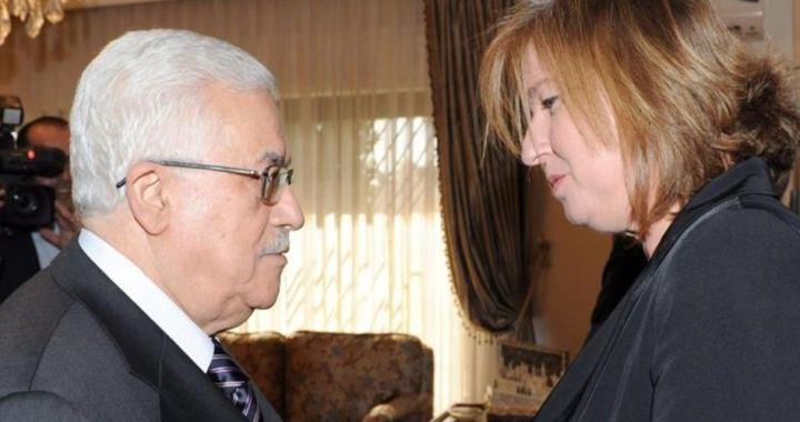 Abbas en Tzipi