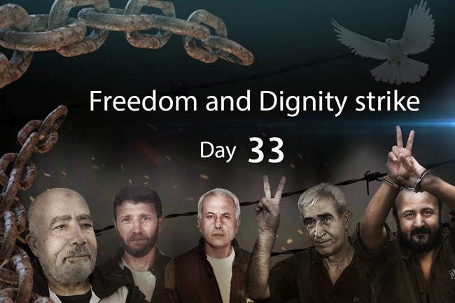 Day 33 Hungerstrike