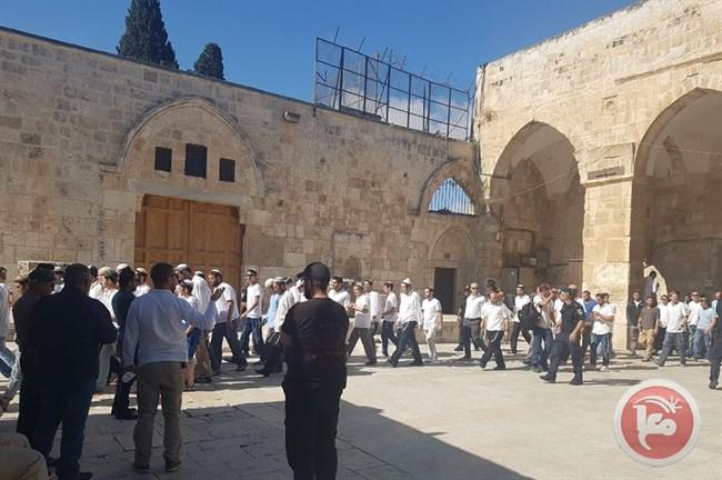 Security guards Al-Aqsa1