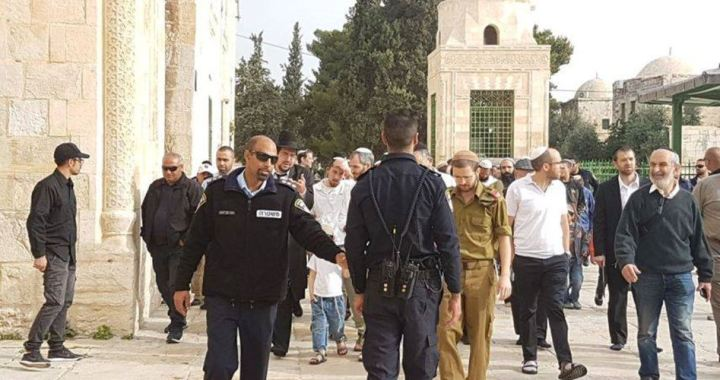 Settlers brake in al_Aqsa Mosque