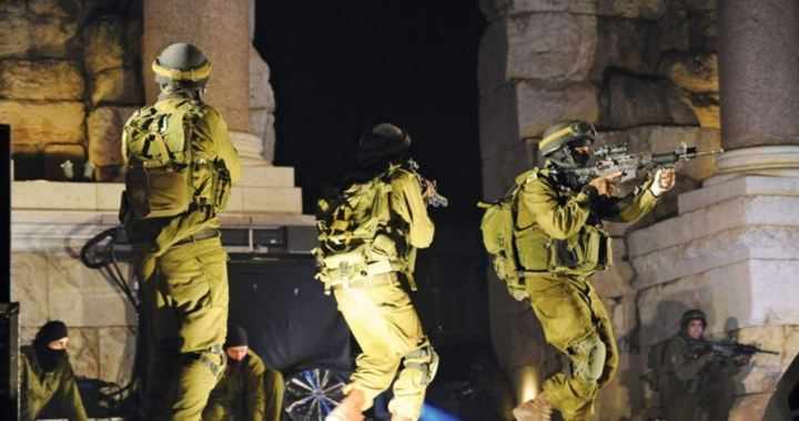 12 Palestinians detained