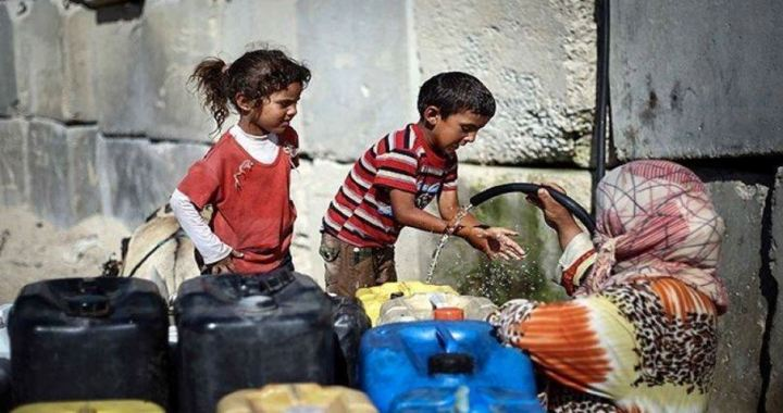 13 towns Nablus cut off water