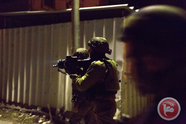 15 Palestinians detained