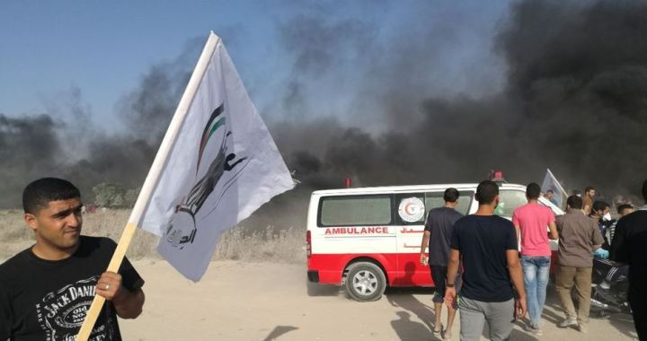 22 Palestinians injured
