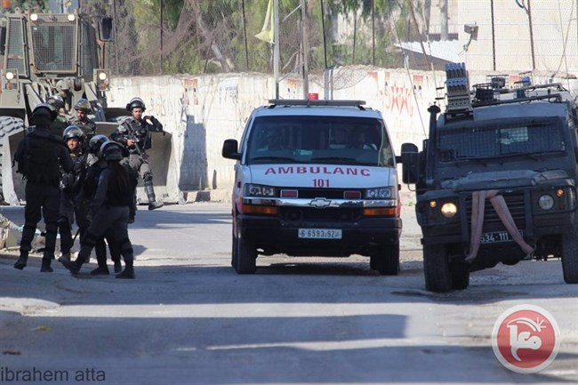 Ambulance Deir Abu Mashaal