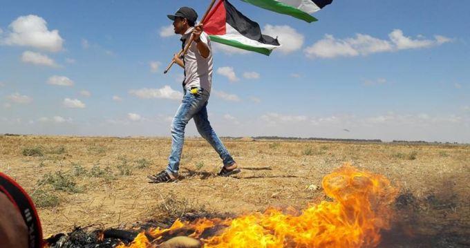 Clashes east Gaza