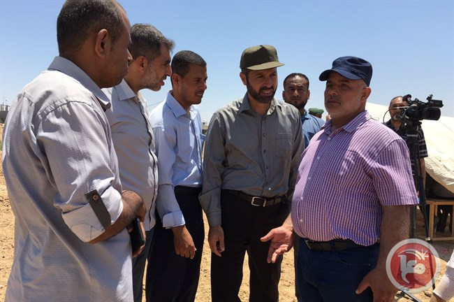 Gaza bufferzone Egypt Tawfiq Abu Naim