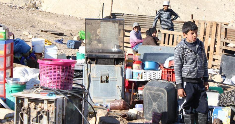 Homeless in Jordan Valley