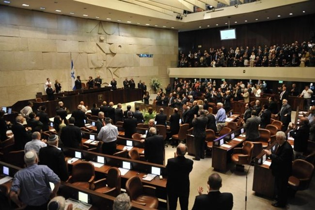 Knesset talk about seetlements