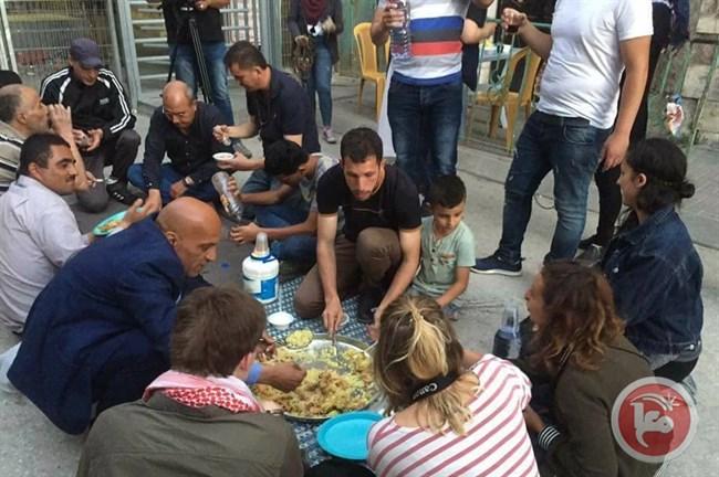 Palestinian activists Iftar