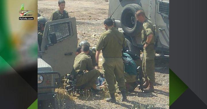 Palestinian girl shot Mevo Dotan