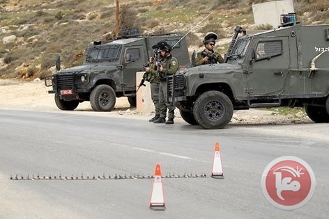Ramallah under controle