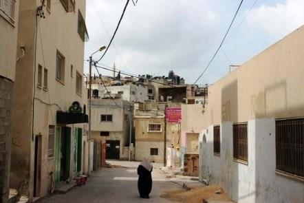 Refugee camp Jenin