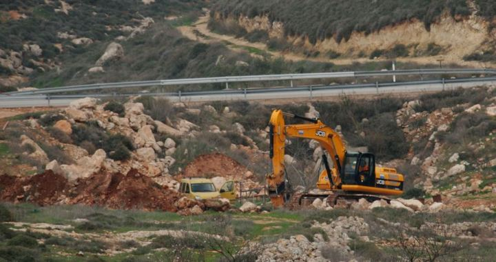 Salfit lands leveled