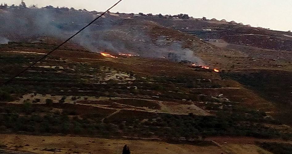Settlers attack Bourin